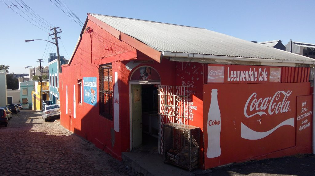 One of the few remaining Corner Shops in the Bo Kaap